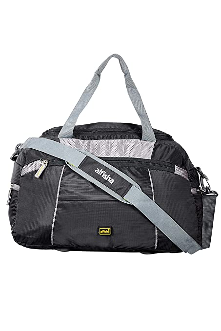 alfisha (Expandable) Lightweight Waterproof Luggage Travel Duffel Bag   35Ltr Travel Duffel Bag(Black)  Amazon.in  Bags, Wallets   Luggage 7591ad32c3
