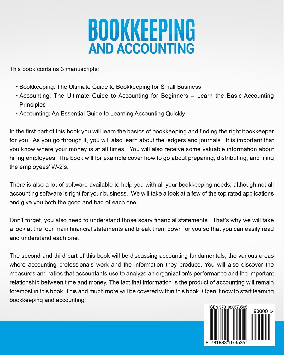 Bookkeeping and Accounting: The Ultimate Guide to Basic ...