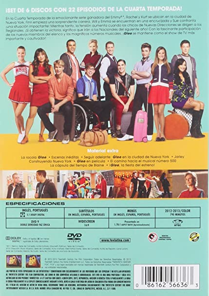 Glee, Temporada 4: Lea Michele, Cory Monteith, Chris Colfer, Ryan ...