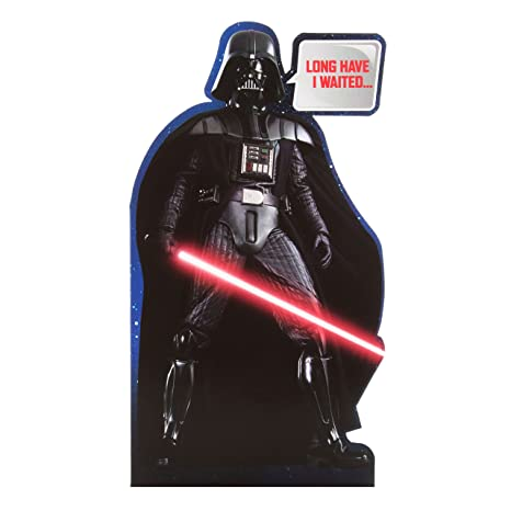 Amazon.com : Star Wars Darth Vader Birthday Card : Office ...