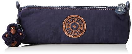 Kipling Freedom Estuches, 22 cm, 1 liters, Azul (Blue Tan Block)