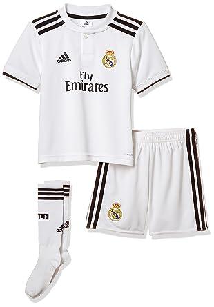 5ce33a9e237 adidas Real H Mini Conjunto Equipación, Bebé-Niños: Amazon.es: Ropa ...