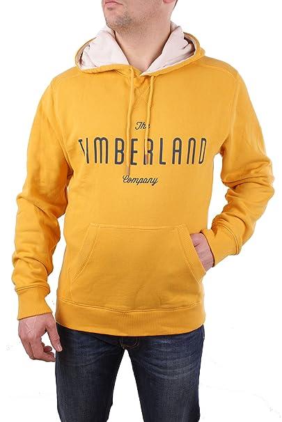 Timberland - Sudadera con Capucha - para Hombre Amarillo: Amazon.es: Ropa y accesorios