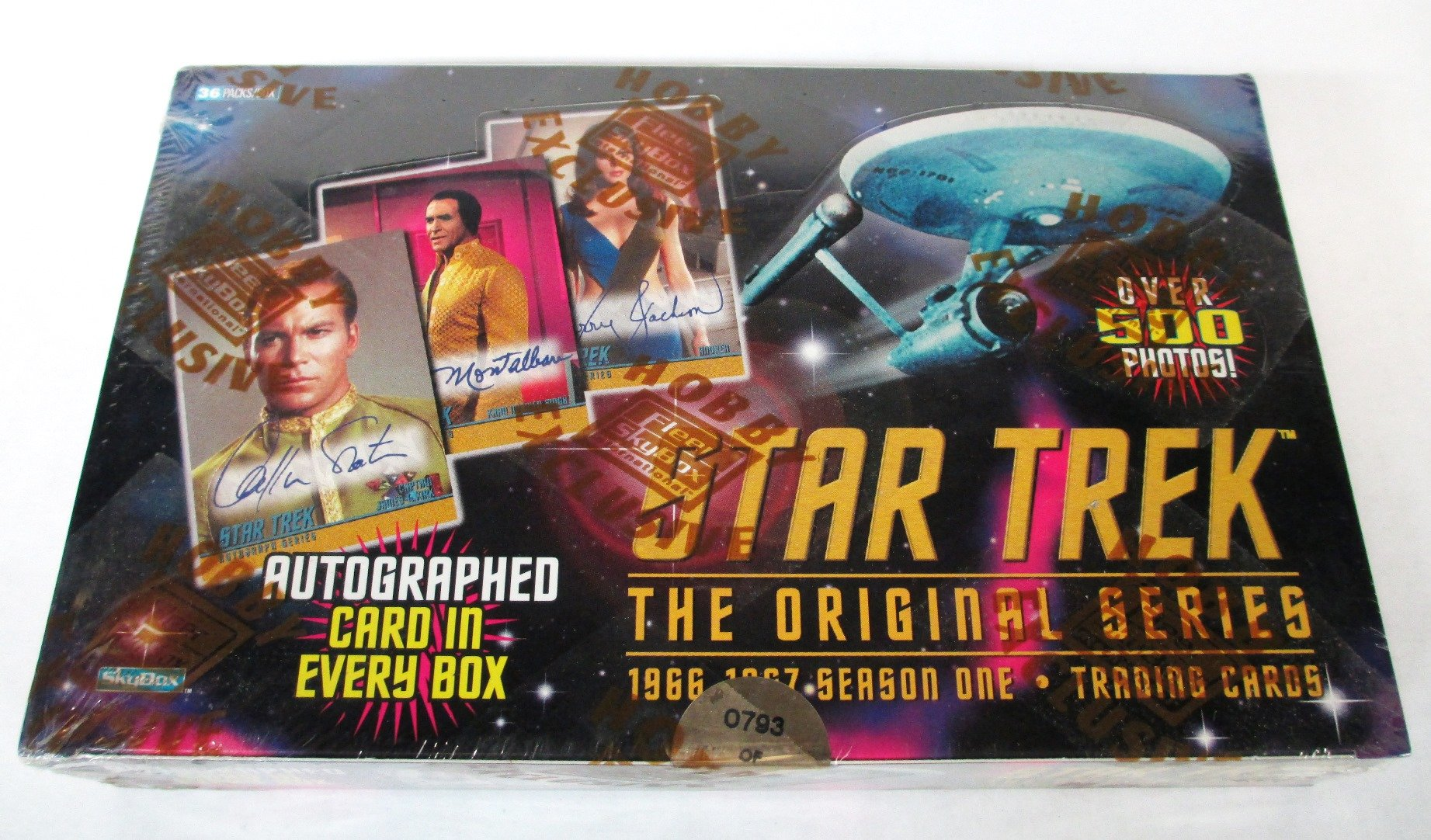 Star Trek The Original Series 1966-1967 Season One Trading Cards Box Set - With Autographed Card!