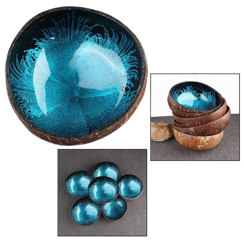 OFKPO Decorative Coconut Shell Bowl , Desktop Key Storage Home Decorative Bowls