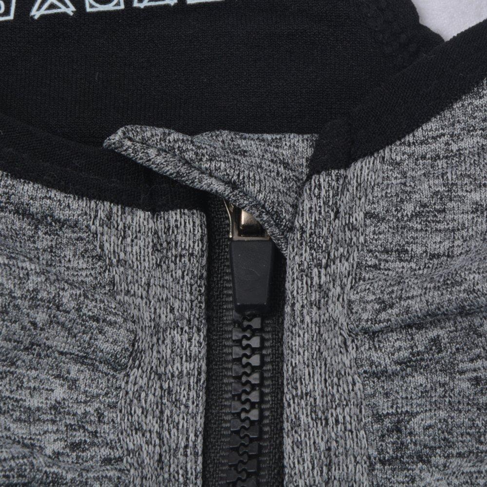 SUNLAND Women Wireless Yoga Sports Bras Training Stretch Tank Top High Impact Padded Bra Front Zipper Closure