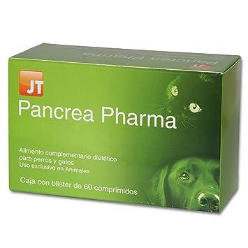 JTPharma 163105 Pancrea Pharma - 60 Comprimidos: Amazon.es: Productos para mascotas