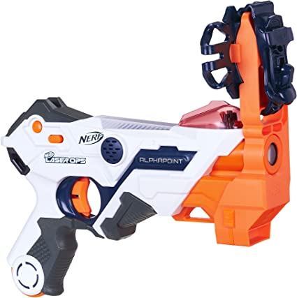 Nerf Laser Ops Pro Alphapoint Two Pack Battle Ready Play For Kids Adult Boys