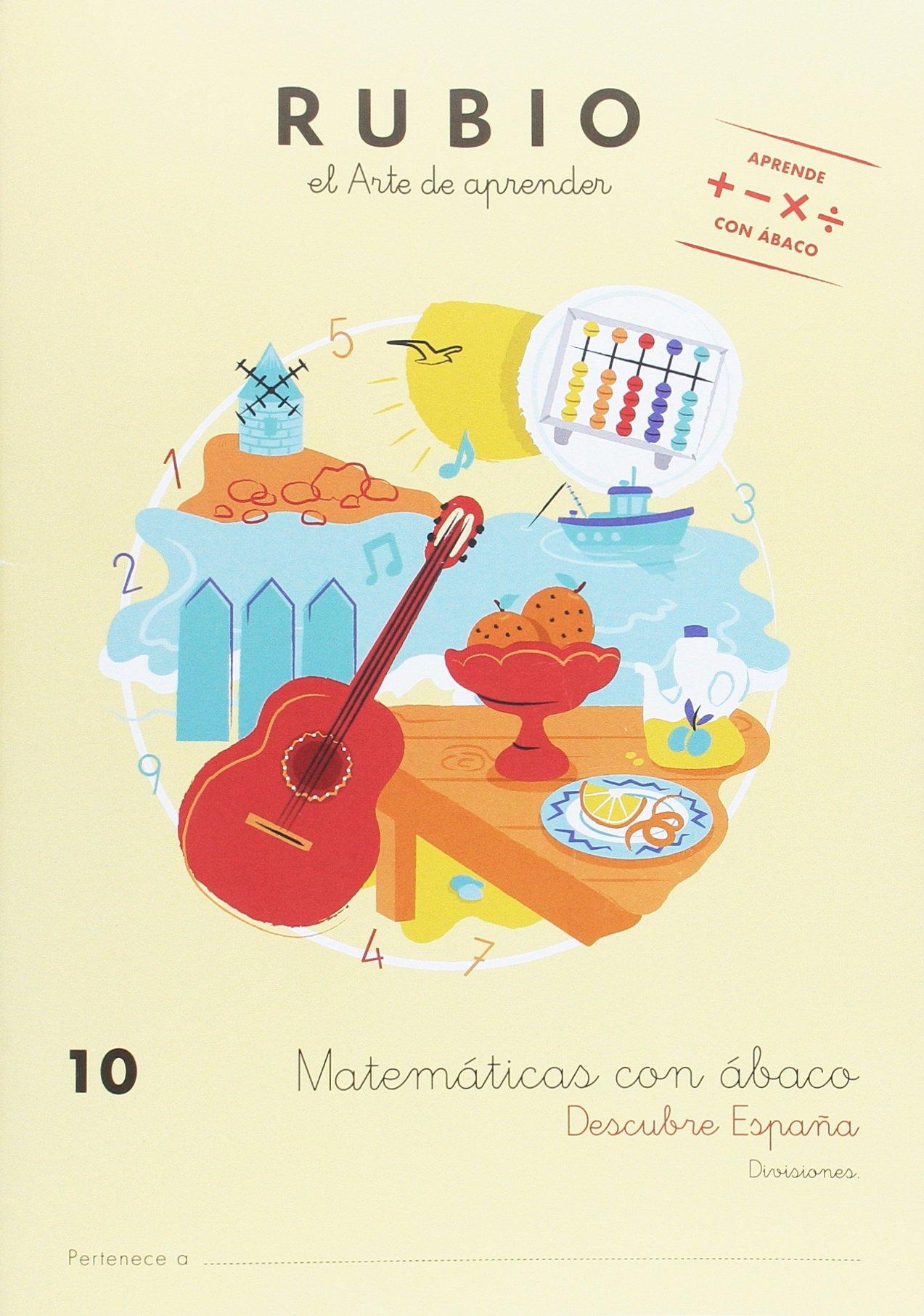MATEMÁTICAS CON ÁBACO 10: Amazon.es: ENRIQUE RUBIO POLO, SLU: Libros