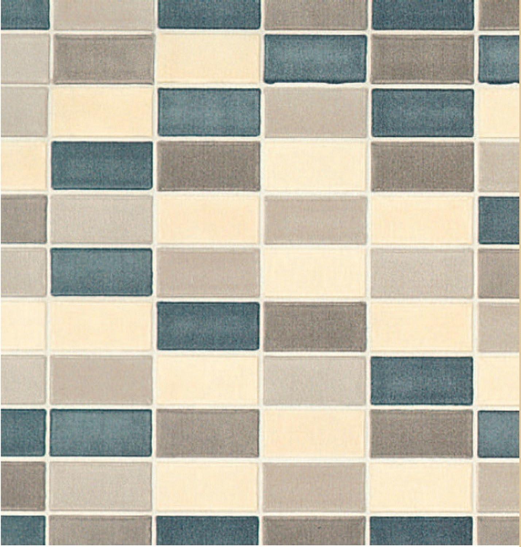 Klebefolie Design Fliese Cetona beige Mosaik Dekorfolie Möbelfolie 45x200 cm