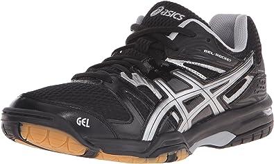 ASICS GEL ROCKET 7 Volleyball shoes white magenta black