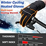 Heated Gloves with Rechargeable Battery for Men
