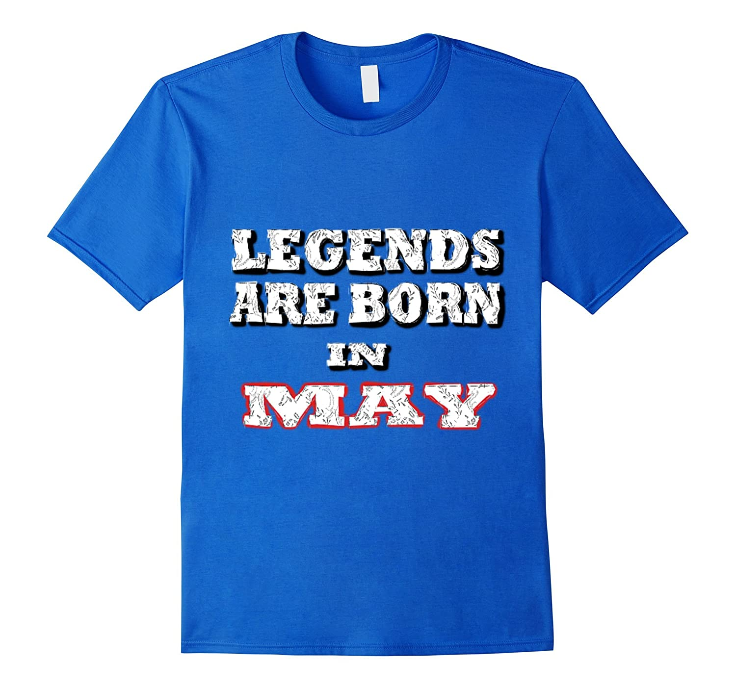 Legends Are Born In May T-shirt - Gold Vintage Edition-CD
