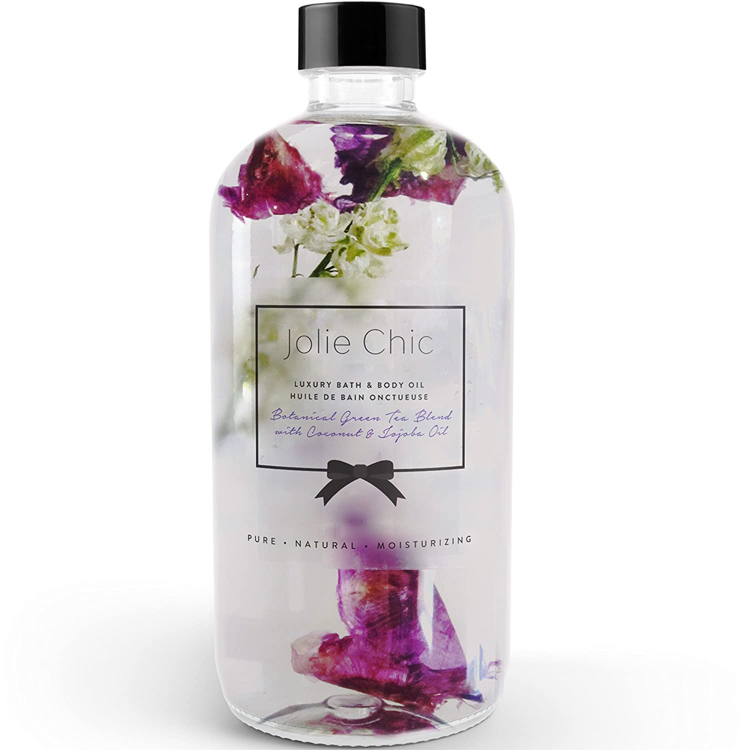 Bath and Body Oil for Women - Bath Oil with Jojoba and Coconut Oil - Massage Oil - UK Made pure sanctum