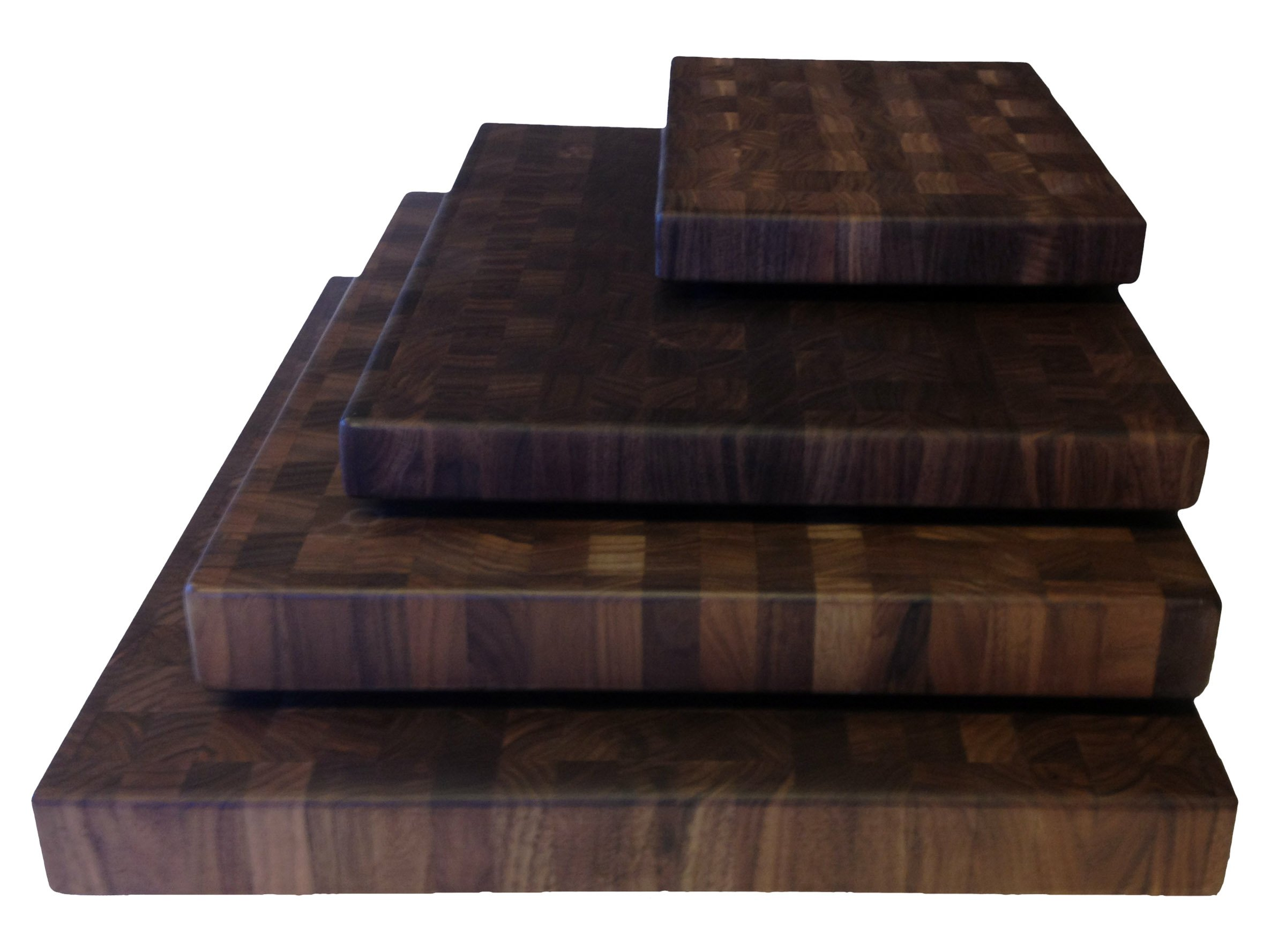 Walnut Cutting Boards End Grain Hardwood Butchers Chopping Block Size: Small 9x12 inch