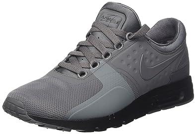 detailed look d2472 3edb1 Nike Damen WMNS Air Max Zero Laufschuhe Grau (Dark Greydark Grey Black) 39  EU