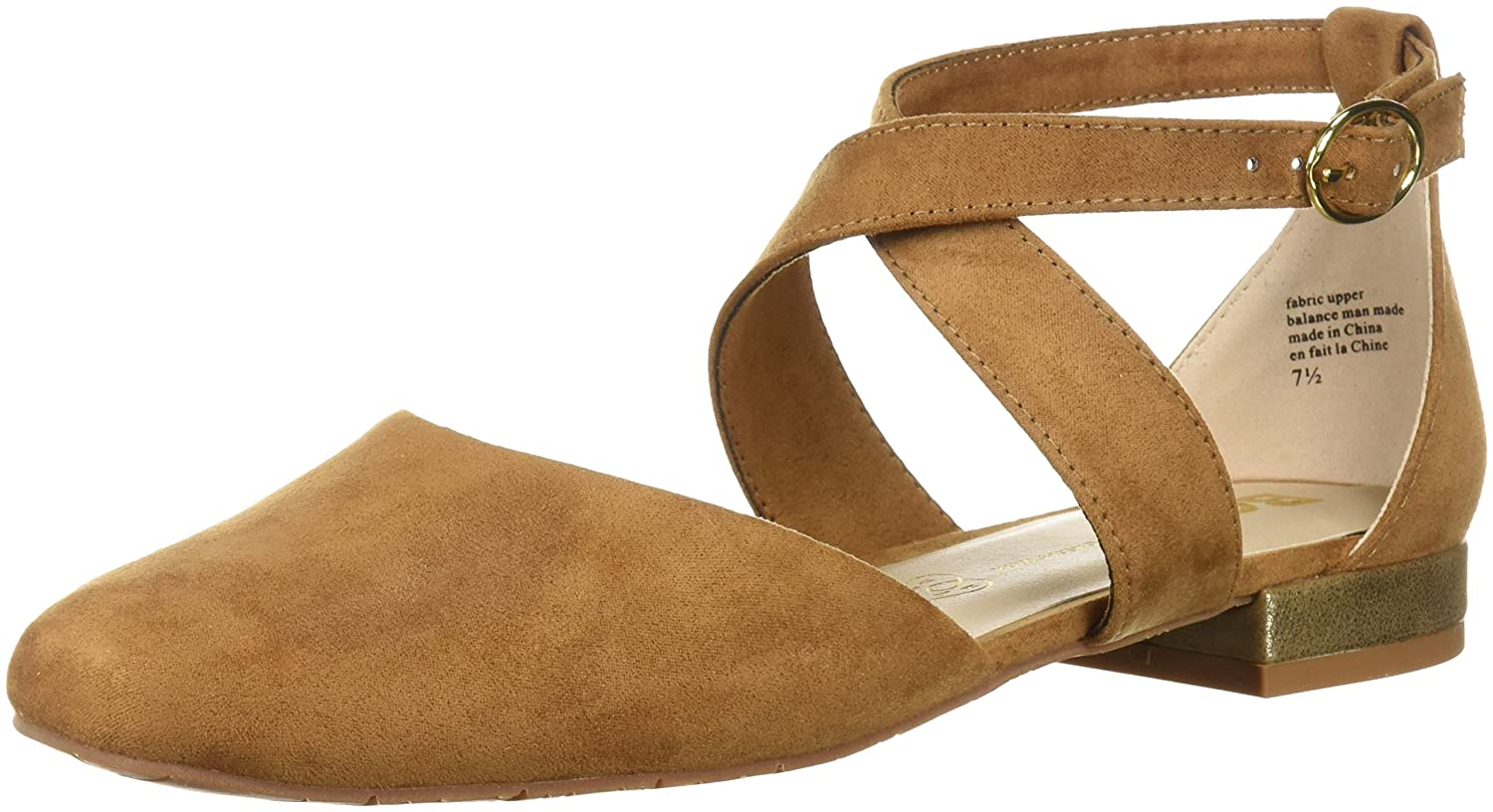 BC Footwear Women's Concession Stand Ballet Flat B0759DTLYJ 10 B(M) US|Tan