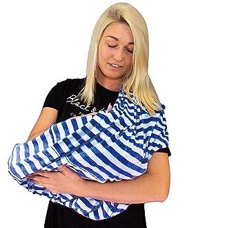 hochwertiger Stillponcho f/ür unterwegs Das flexibel einsetzbare Still-cover f/ür Mama Mylittlepearl Premium Stillschal Extra komfortables Stilltuch f/ür unterwegs