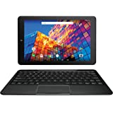 RCA 10 inches Quad Core Tablet with Keyboard Touchscreen WiFi 16G Storage Android 7.0 (Black) (Renewed)