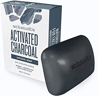 product image for Schmidts Activated Charcoal Bar Soap Male Set 5oz, pack of 1