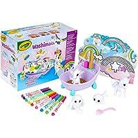 Crayola-74-7354 74-7354 WASHIMALS Animales Fantasticos, para Colorear