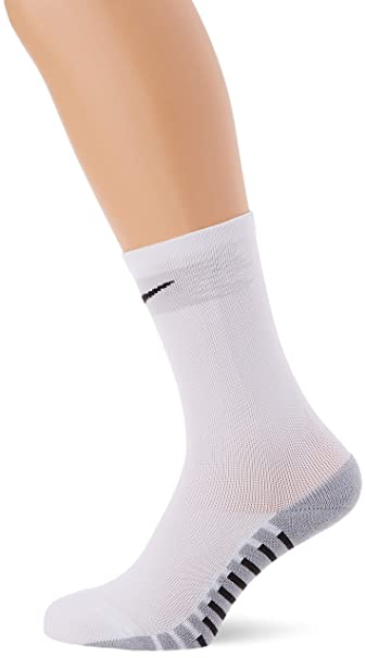 Nike Crew Sock Calcetin, Unisex Adulto, White/Jetstream/Black, L