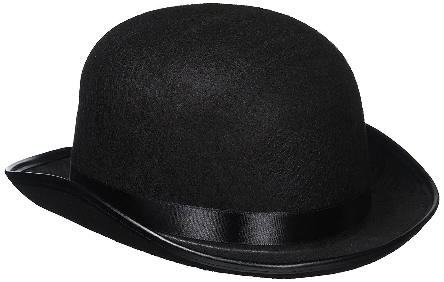 0010649ee27cf Classic Black Derby Hat  One Sioze Fits Adults   Children Great for School  Plays