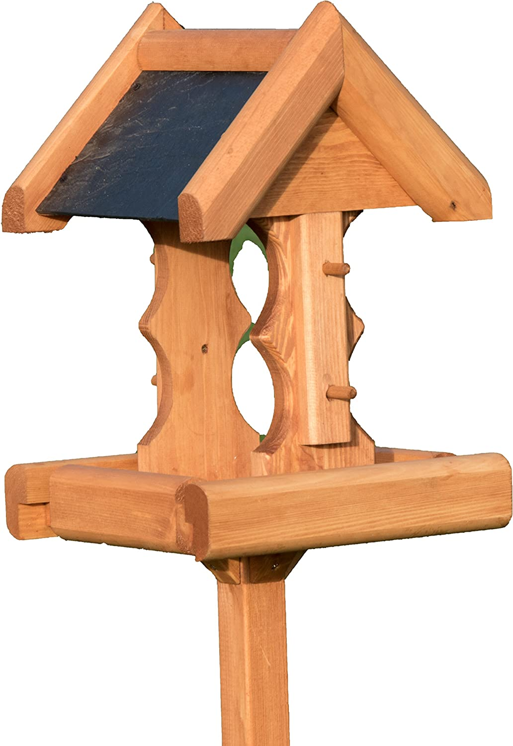 Riverside Woodcraft Woodland Bird Table With Anti Bacteria Coating