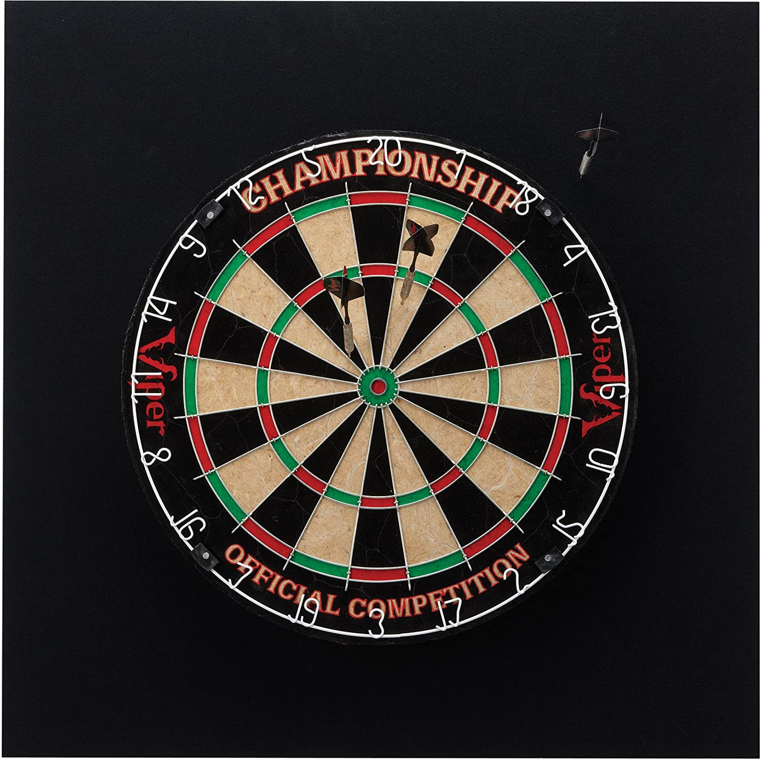 Viper EVA V-Foam Dartboard Surround Wall Protector