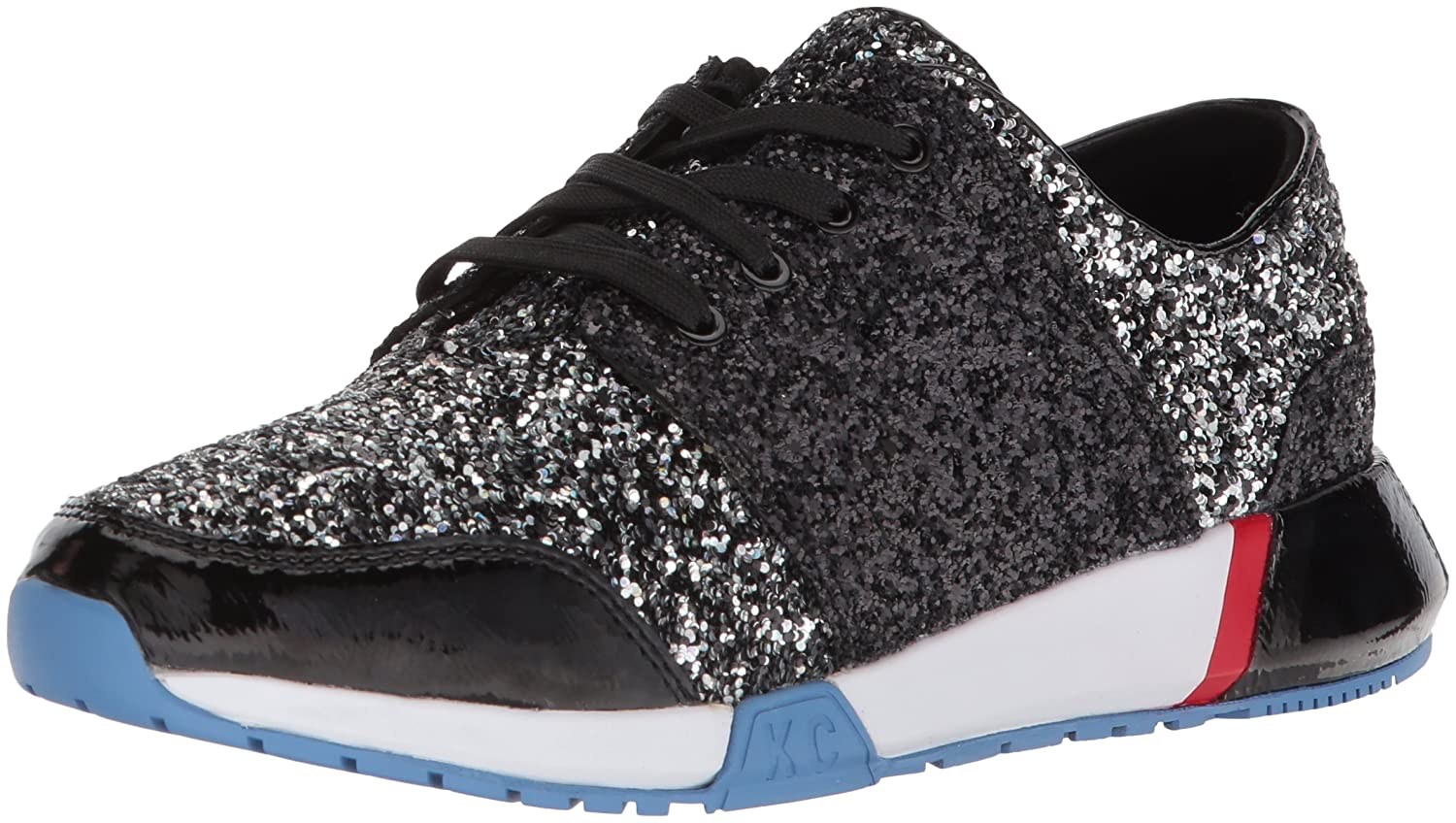 Kenneth Cole New York Women's Sumner Lace-up Jogger Sneaker B0794XPC51 9 B(M) US|Black