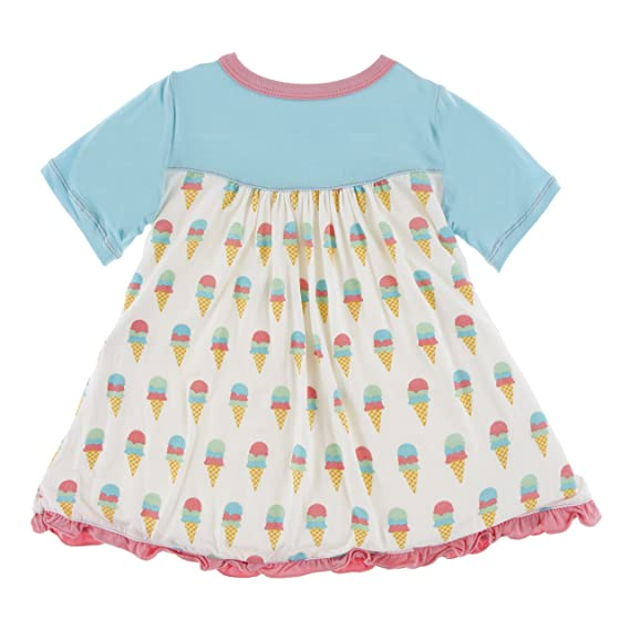 d8c6cca5917 Amazon.com  KicKee Pants Bamboo Swing Dress  Infant And Toddler Playwear  Dresses  Clothing
