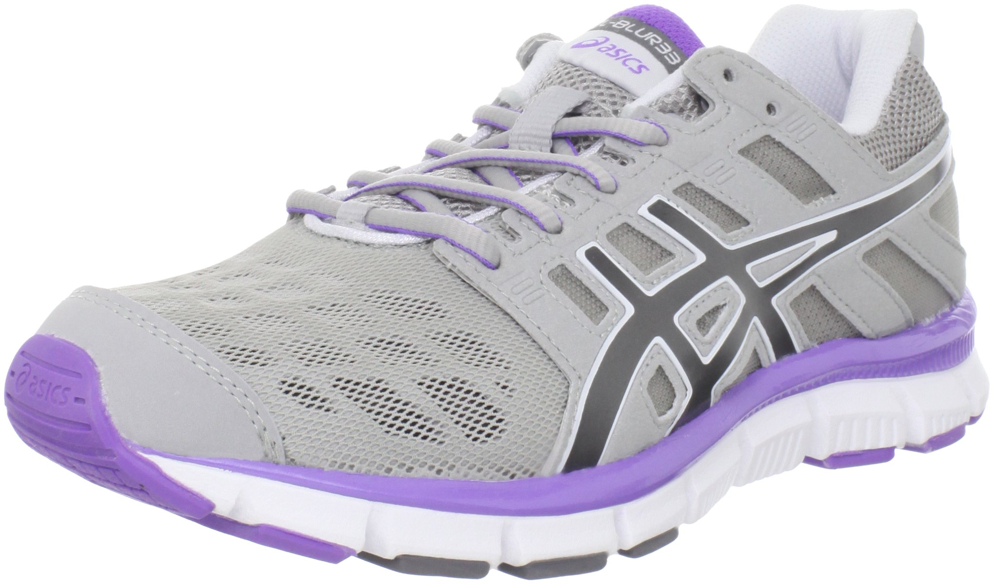 ASICS Women's GEL-Blur 33 TR Cross-Training Shoe,Silver/Titanium/Neon Purple,12 M US