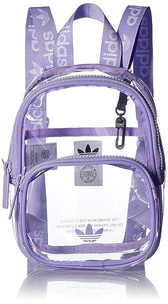 36845d06e13 Amazon.com  adidas Originals Clear Mini Backpack