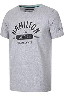 5d34e4cc Lewis Hamilton GBR 44 Mens T-Shirt 2017 Special Edition Mercedes-AMG Formula  1