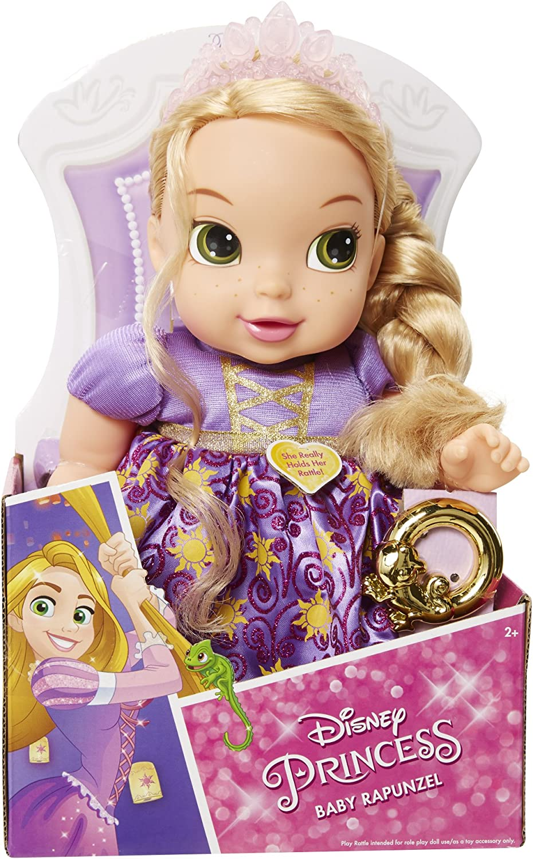 Amazon Com Disney Princess Deluxe Baby Rapunzel Toys Games