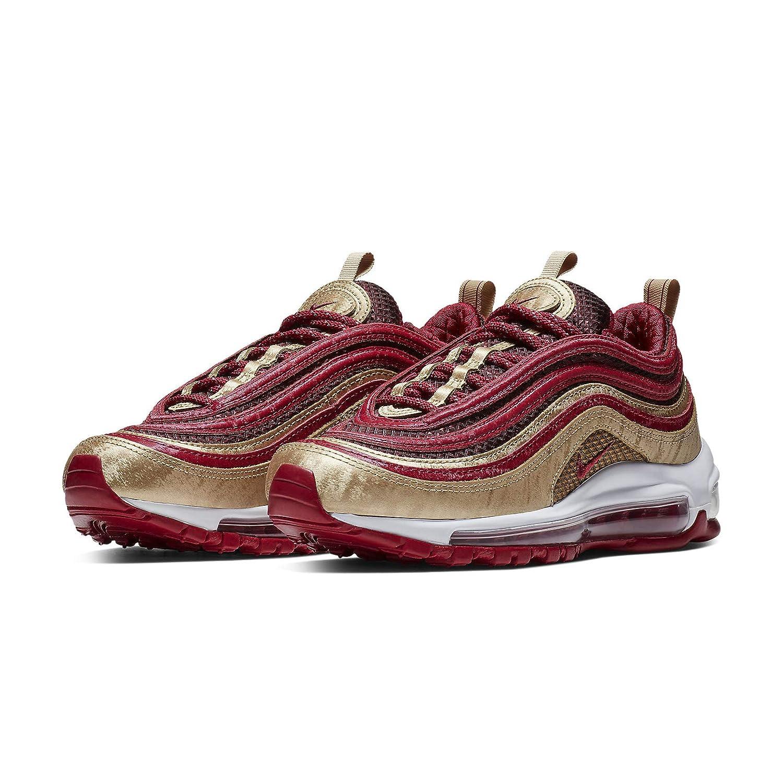 GS BQ4429-600 Noble Red//Blur Kids Shoes Nike Air Max 97 QS