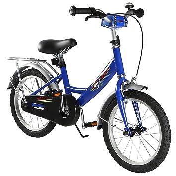 Ultrasport 331100000187 Bicicleta, Niños, Azul Oscuro, 16 Pulgadas ...