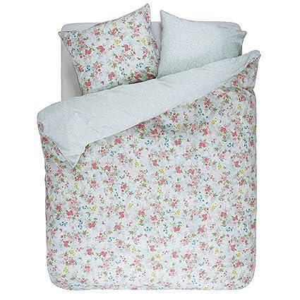 Ropa de cama con rosas chinas de PiP Studio, en blanco, algodón, blanco
