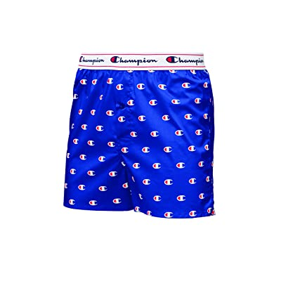 Champion LIFE Men's Print Woven Boxer: Clothing