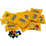 Milk Chocolate Peanut M&Ms Fun Sized Individual Bags - 5LB Resealable Stand Up Bag (approx. 115 pieces) - Bulk Milk…