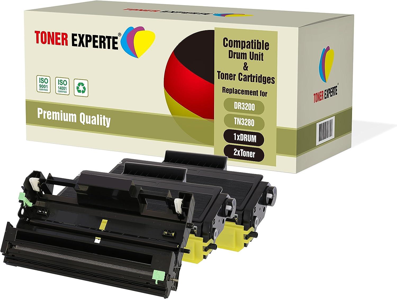 8380DN MFC-8880DN MFC-8890DW 25000 pagine TONER EXPERTE/® DR3200 Tamburo compatibile per Brother HL-5340D HL-5350DN HL-5350DNLT HL-5370DW HL-5380DN DCP-8070D DCP-8085DN MFC-8370DN MFC