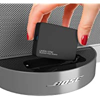 LAYEN i-SYNC Bluetooth Receiver 30 pin Adapter - Audio Dongle for Bose SoundDock and Other Hi-Fi, Stereo and 30 pin…