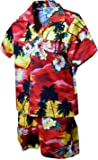 Pacific Legend Boys Brilliant Hawaiian Island Sunset 2pc Set