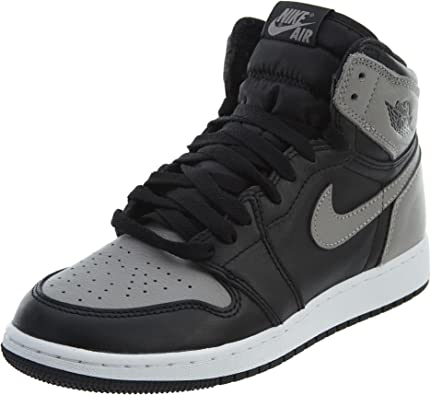rebanada Lesionarse dólar estadounidense  Amazon.com | AIR JORDAN 1 Retro High Og (Bg) 'Shadow' - 575441-013 - Size  5.5Y | Basketball