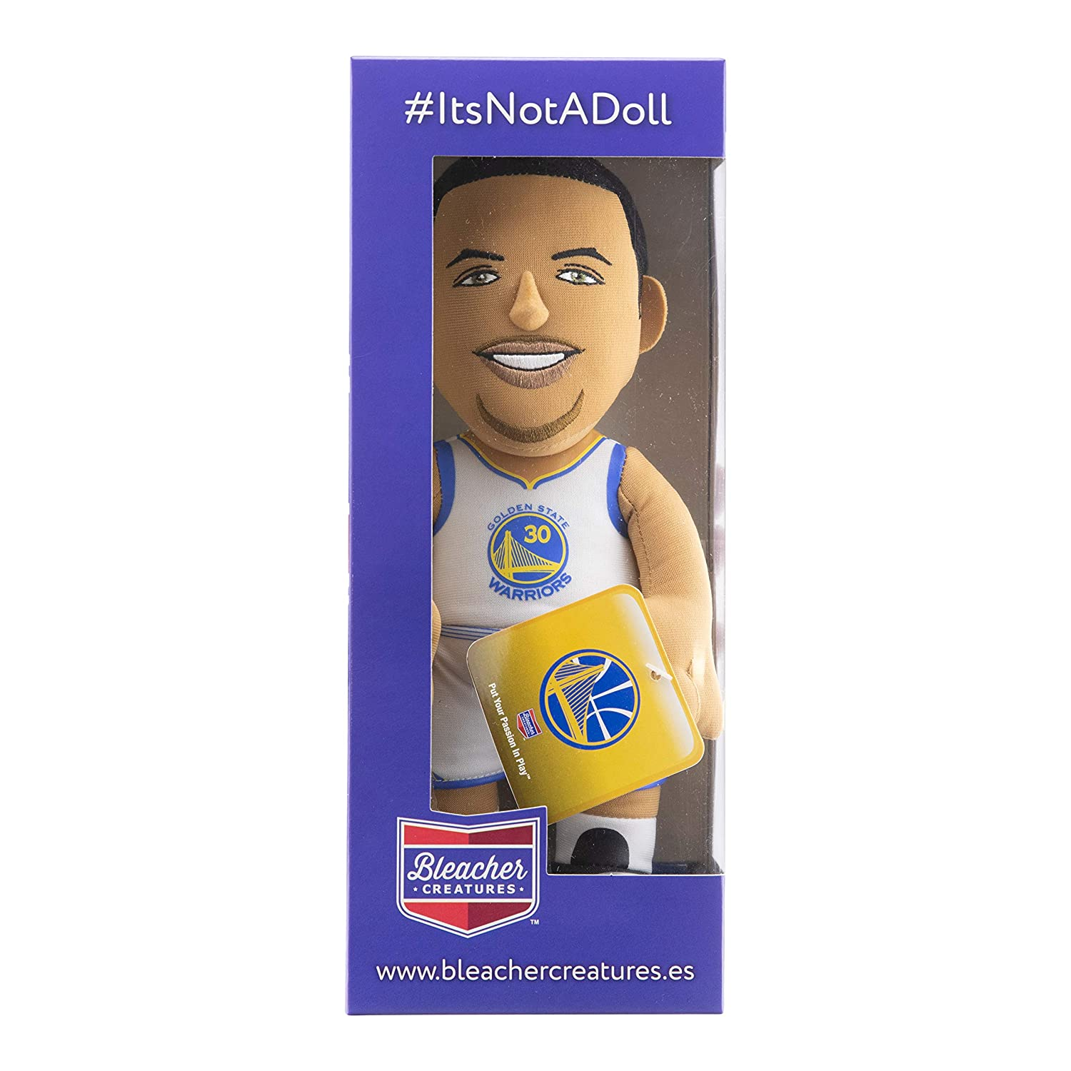 Warriors Stephen Curry 25cm Stoff Figur Golden St