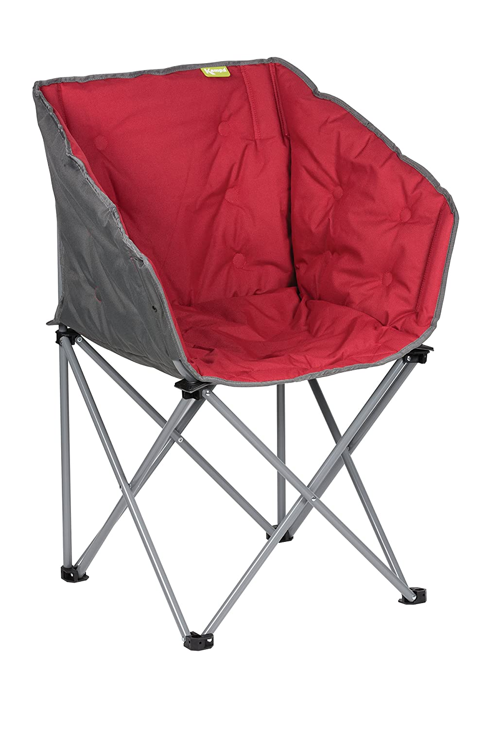 Kampa Tub Chair | Folding Camping Chair | RED