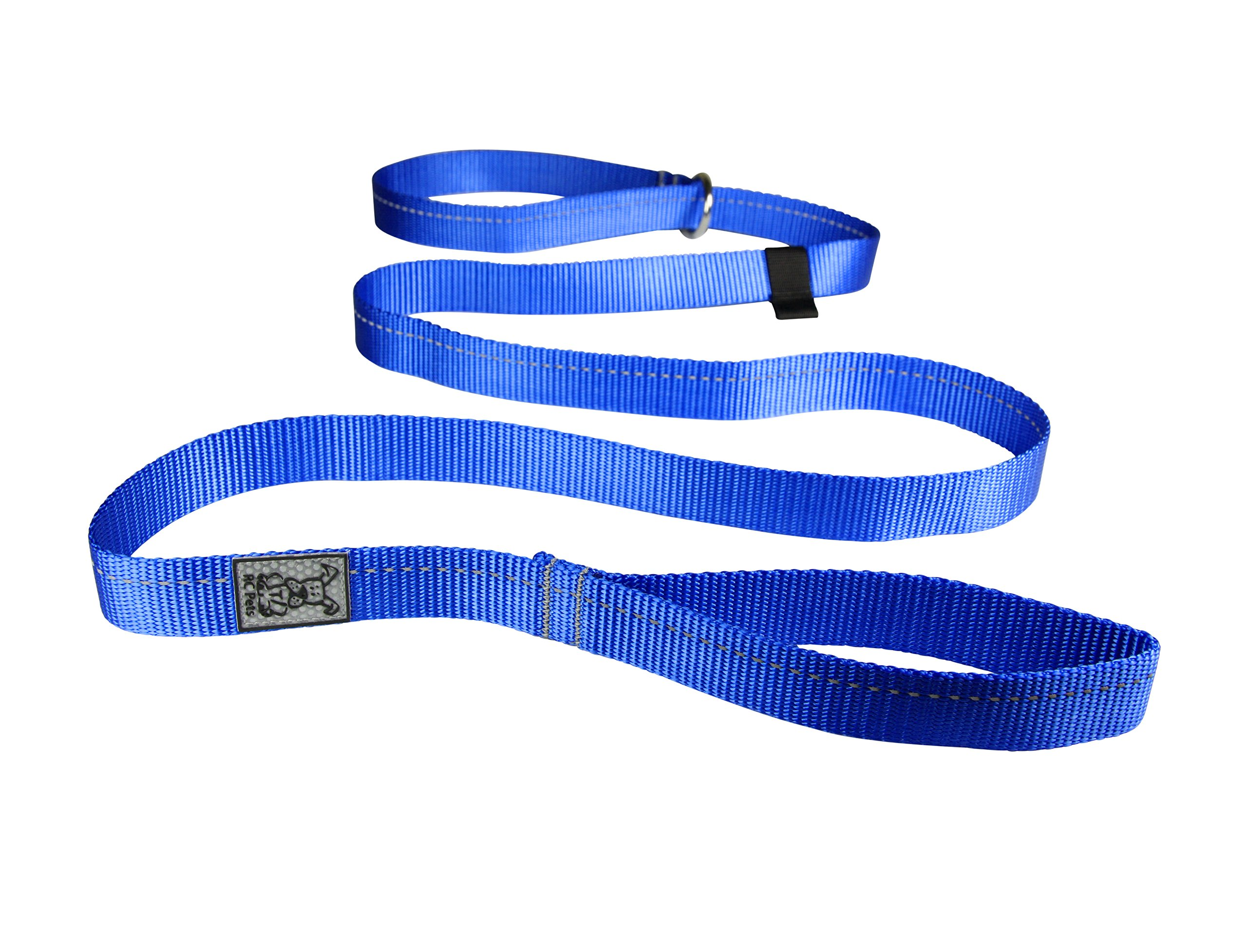 RC Pet Products 1'' x 6' Primary Collection Dog Slip Lead, Royal Blue