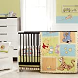 Amazon Com Winnie The Pooh 5 Piece Baby Crib Bedding Set