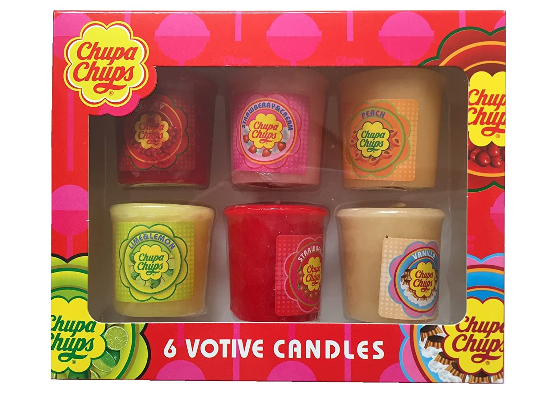 Chupa Chups juego de 6velas perfumadas vela Pack Votive Candles