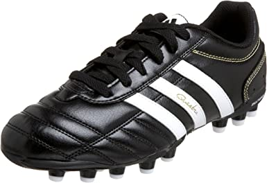 recuerdos enemigo Día del Niño  Amazon.com | adidas Men's Questra III Mg Soccer Shoe, Black/White/Gold, 8 M  | Soccer